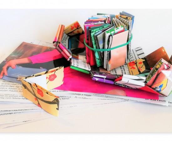 Alkotói csomag színes kistáska készítéshez