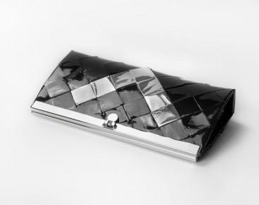 Fekete maxi pénztárca