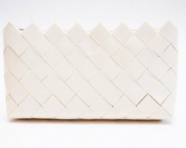 Tapéta clutch-fehér