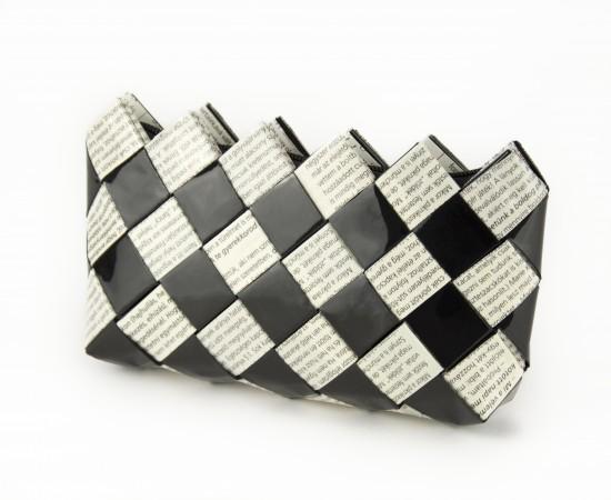 Neszeszer-kozmetikai táska Black and White