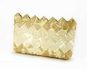 Alkalmi táska- Clutch borítéktáska arany