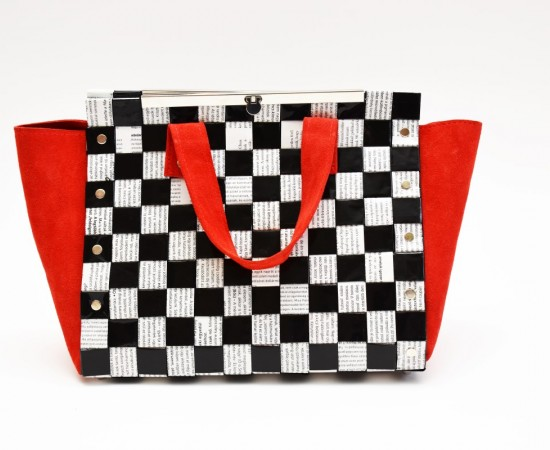 Wing bag- Fekete fehér